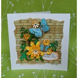 Docrafts / X-Cut ¡DESCUENTO! Corte y repujado, florecimientos foliares