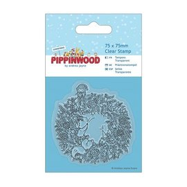 Papermania timbre transparent, couronne