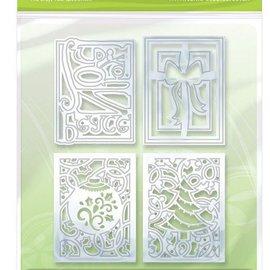 Tonic Studio´s pochoir de poinçonnage et estampage 4 cadre décoratif