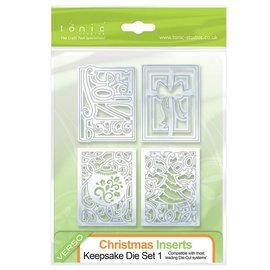 Tonic Studio´s Stamping- and pre-template: 4 decorative frames