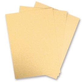 Karten und Scrapbooking Papier, Papier blöcke 5 feuilles de carton métallique, ivoire