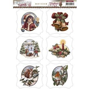 Bilder, 3D Bilder und ausgestanzte Teile usw... A4 Gestantzte Bilderbogen, Christmas Theme