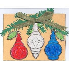 STICKER / AUTOCOLLANT Starform sticker, kerstbal