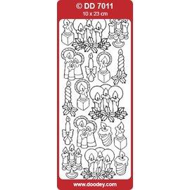 STICKER / AUTOCOLLANT Sticker, Kerzen
