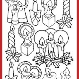 Sticker Pegatinas, velas
