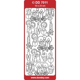 STICKER / AUTOCOLLANT Stickers, kaarsen