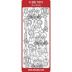 Sticker Stickers, kaarsen
