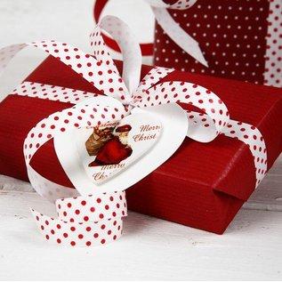 Embellishments / Verzierungen Holz-etikette, 6 verschiedene Weihnachtsmotiven