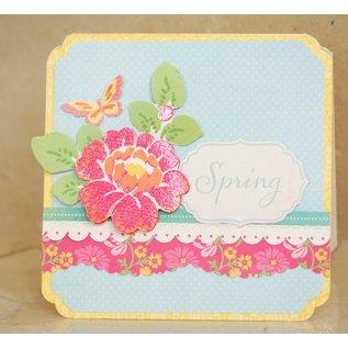 DCWV und Sugar Plum Designer Block, The Spring Fling