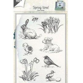 Joy!Crafts / Jeanine´s Art, Hobby Solutions Dies /  timbre transparent: thème de printemps
