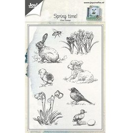 Joy!Crafts / Jeanine´s Art, Hobby Solutions Dies /  sello transparente: Tema del resorte