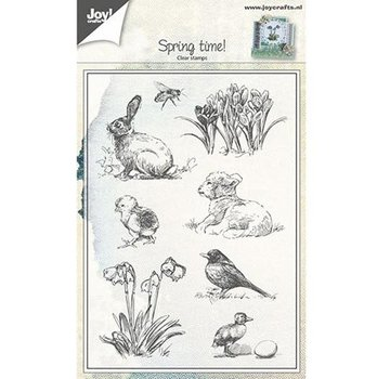 Joy!Crafts / Jeanine´s Art, Hobby Solutions Dies /  Transparent stamp: Spring theme