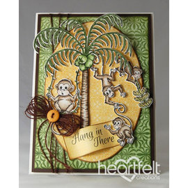 Heartfelt Creations aus USA Nieuwe collectie: de Monkeying Around Collection