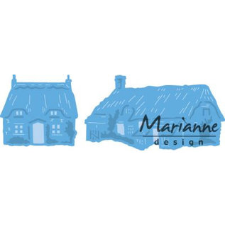 Marianne Design Ponsen jig Tiny's Cottages