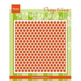 Marianne Design Embossing mappen: Sweethearts, punten
