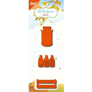 Joy!Crafts / Jeanine´s Art, Hobby Solutions Dies /  Cutting dies: Milk bottle, box, milk jug