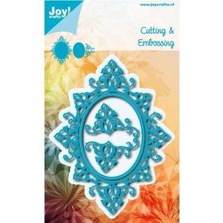 Joy!Crafts / Jeanine´s Art, Hobby Solutions Dies /  Ponsen sjabloon: Oval frames en 2 hoek