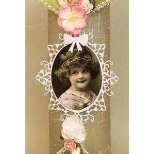 Joy!Crafts / Jeanine´s Art, Hobby Solutions Dies /  Punching template: Oval frames and 2 corner