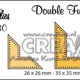 Crealies und CraftEmotions Stan modèles: points d'angle