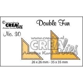 Crealies und CraftEmotions modelli di Stan: punti d'angolo