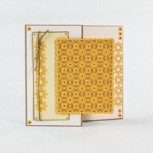 Tonic Studio´s Stansmessen: Deco frame van de bloem
