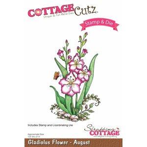 Cottage Cutz NEU Stanzschablone + Stempel: Flower - letzte schablone!