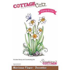 Cottage Cutz NEW stampen stencil stempel +: Flower