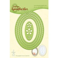Stanzschablonen: Spirella ovals. nur noch wenige vorrätig