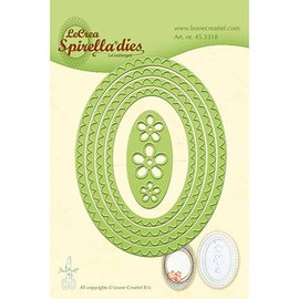 Leane Creatief - Lea'bilities und By Lene Stamping templates: Spirella ovals. Only few in stock
