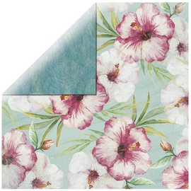 Karten und Scrapbooking Papier, Papier blöcke Scrapbookingpapier Pink Hibiscus