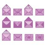 Stansning skabelon til kuverter A6