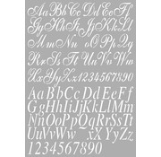 Dutch DooBaDoo Universal Template letters A4