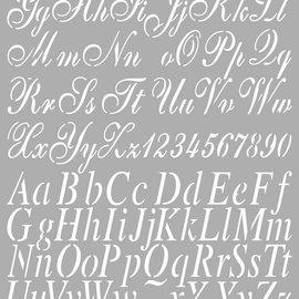 Dutch DooBaDoo lettere Modello universale A4