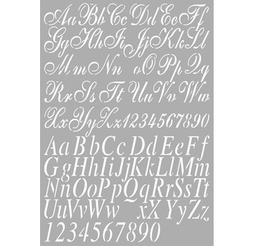 Dutch DooBaDoo lettres de modèle universel A4