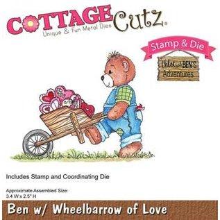 Cottage Cutz NEW stampen stencil stempel +: draag met kruiwagen