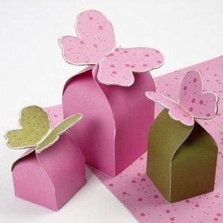 Karten und Scrapbooking Papier, Papier blöcke carton pour boîtes pliantes, 10 feuilles 25,5x36 cm