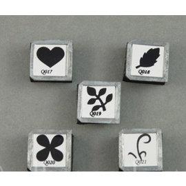 BASTELZUBEHÖR, WERKZEUG UND AUFBEWAHRUNG OLBA, set of stamping bits for OLBA flowers pliers
