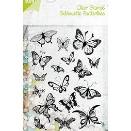 Joy!Crafts / Jeanine´s Art, Hobby Solutions Dies /  Transparent Stempel, Schmetterlinge - NUR noch 1 vorrätig!
