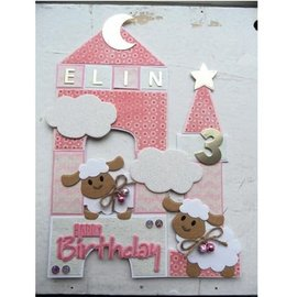 Marianne Design Snij en embossing Sjabloon, Collectibles - Eline's schapen