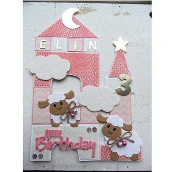 Marianne Design Modello di taglio e goffratura Collectables - Pecora di Eline