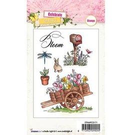 Studio Light Transparent Stamp: theme, garden