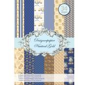 REDDY Designerpapierset, Nautical Gold