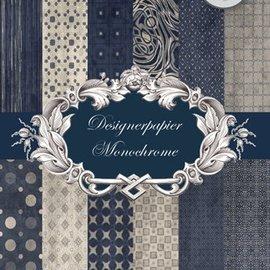 REDDY Designerpapierset, Monocromatico