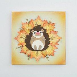 Tonic Studio´s Punching template: Hedgehog in 3D