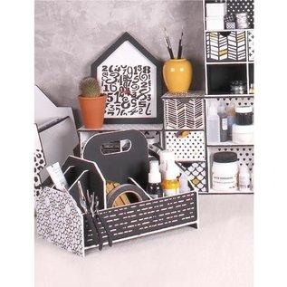 Holz, MDF, Pappe, Objekten zum Dekorieren Storage box, tool box