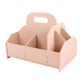 Holz, MDF, Pappe, Objekten zum Dekorieren caja de almacenaje, caja de herramientas