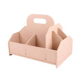 Holz, MDF, Pappe, Objekten zum Dekorieren Boîte de rangement, boîte à outils