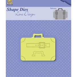 Nellie Snellen Stansning skabelon: Kufferter