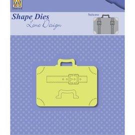 Nellie Snellen Stanzschablone: Koffer