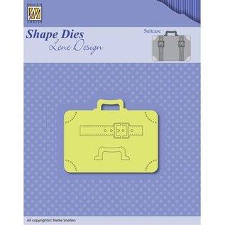 Nellie Snellen Ponsen sjabloon: Koffers